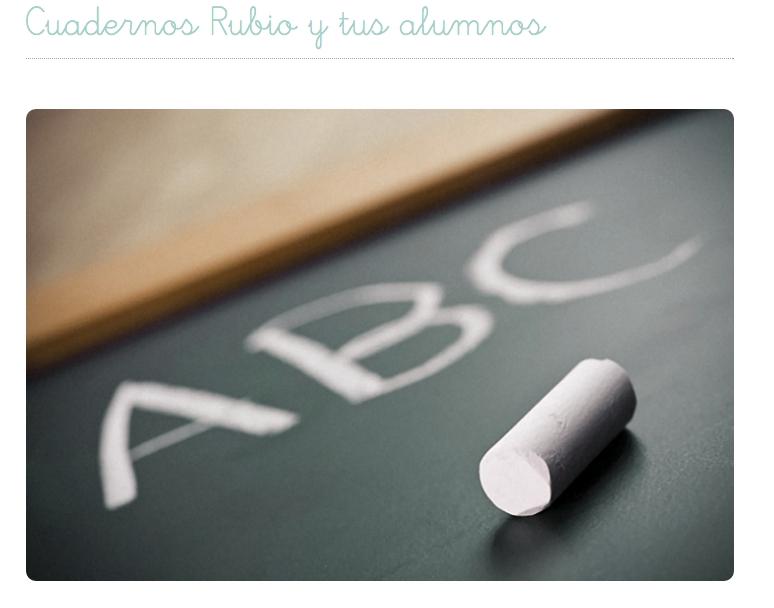 Adaptación al mundo digital de Cuadernillos Rubio