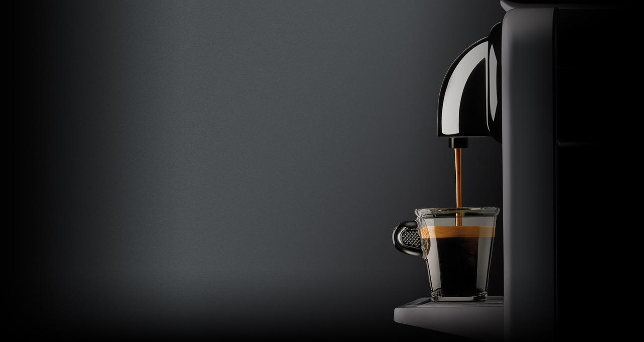 Imagen de una de las cafeteras Nespresso