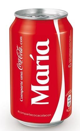 Campaña Coca-Cola personalización producto en el blog de Salabre, agencia de comunicación y community manager en Xàbia y Jávea