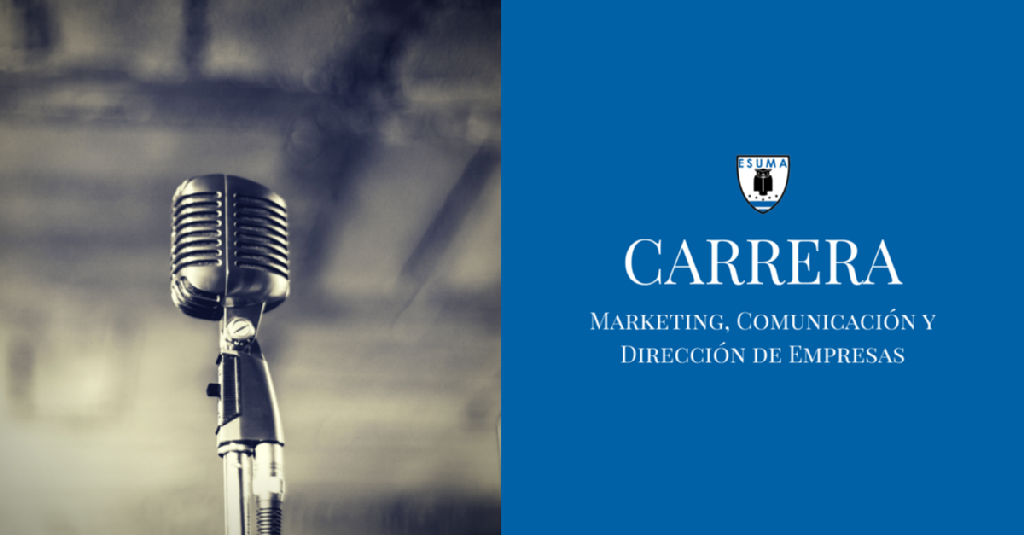 Carrera de marketing, comunicación y dirección de empresas